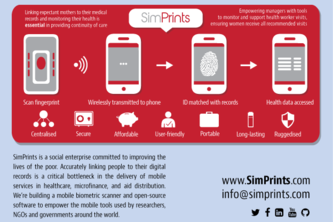 SimPrints Solution for Community Health Workers