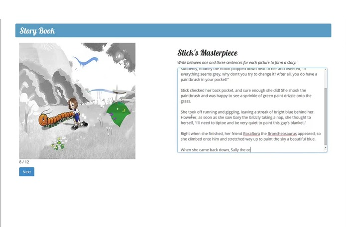 Storybook – screenshot 2
