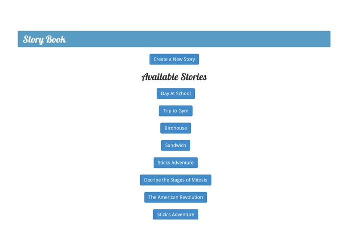 Storybook – screenshot 3