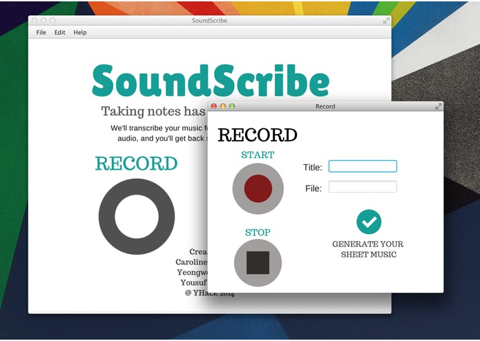 SoundScribe – screenshot 2