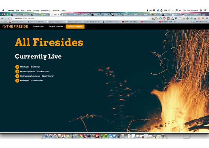 The Fireside – screenshot 1