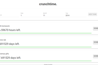 crunchtime.