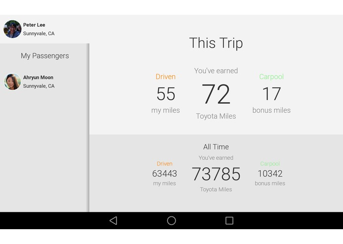 My Toyota Miles – screenshot 6