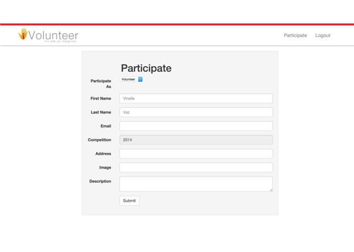 iVolunteer  – screenshot 4