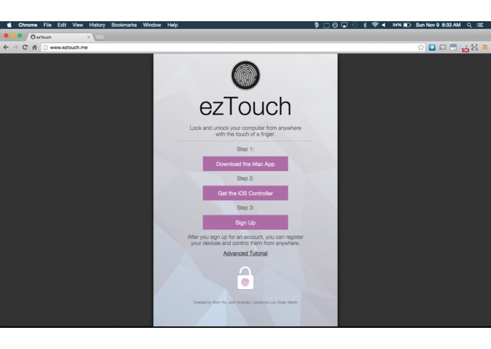 ezTouch – screenshot 3