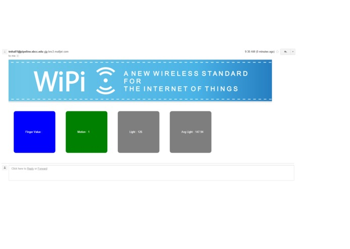 Node - Intelligent mesh network for WiPi – screenshot 1