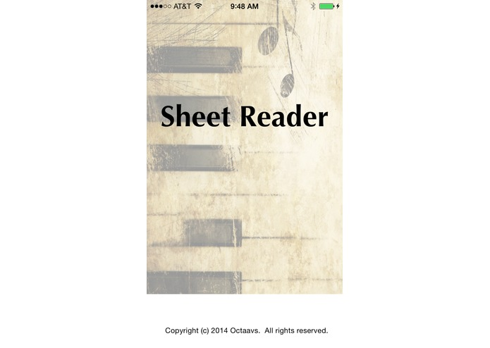 Sheet Reader – screenshot 1
