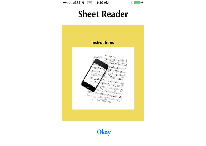 Sheet Reader – screenshot 3