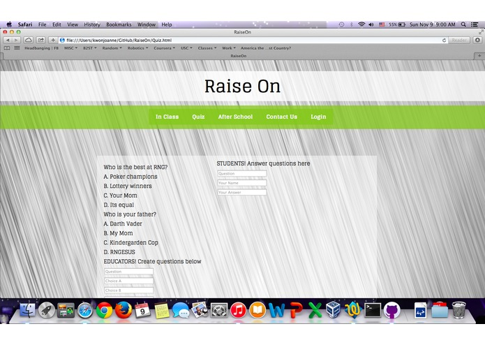 RaiseOn – screenshot 3