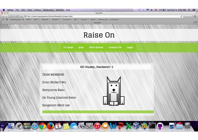 RaiseOn – screenshot 2