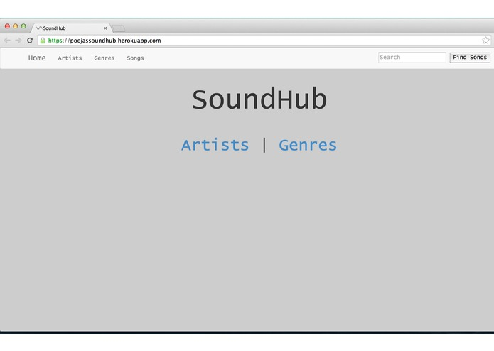 SoundHub – screenshot 1