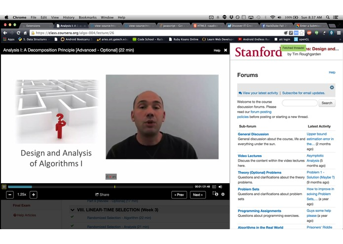 Coursera Enhancement Thing – screenshot 1