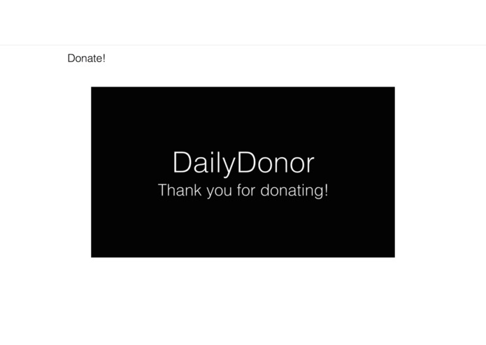 DailyDonor – screenshot 7