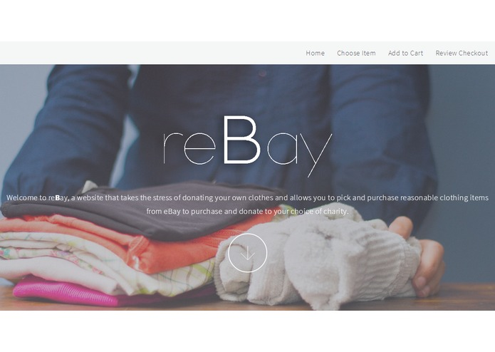 reBay – screenshot 1