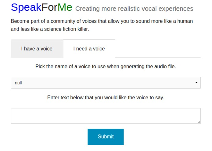 Speak For Me – screenshot 2