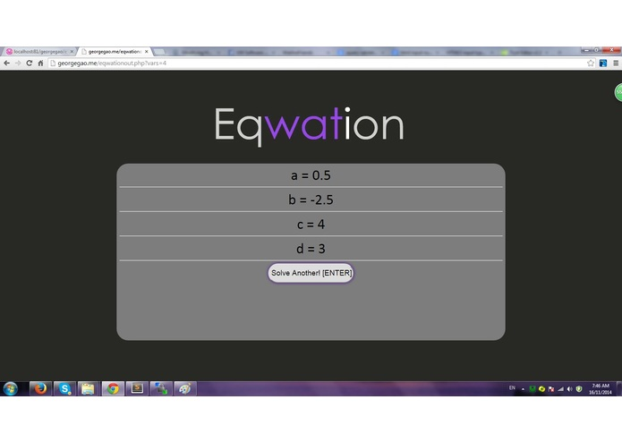 Eqwation – screenshot 2