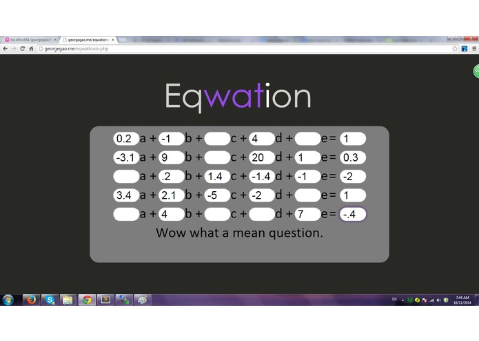 Eqwation – screenshot 3