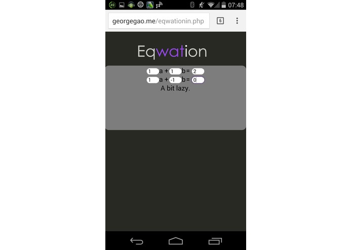 Eqwation – screenshot 4