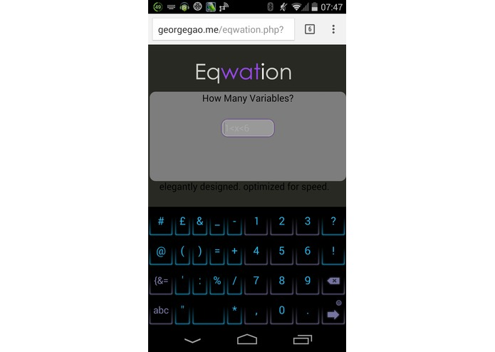 Eqwation – screenshot 5
