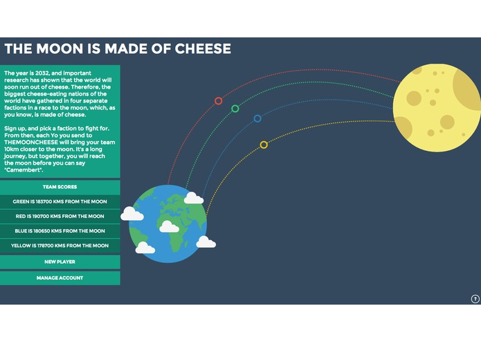 The Moon is Made of Cheese – screenshot 1