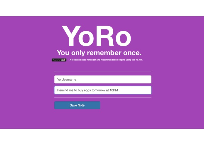 YoRo - You only remember once. – screenshot 1
