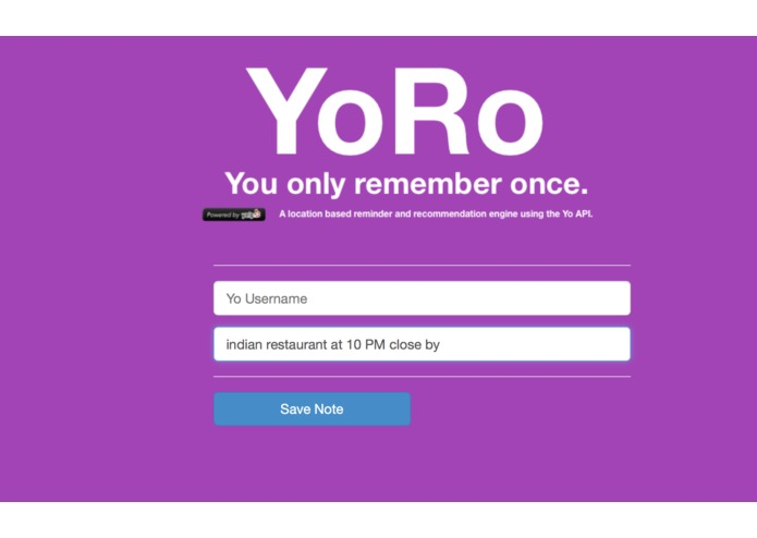 YoRo - You only remember once. – screenshot 3