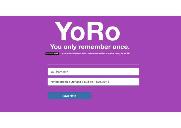 YoRo - You only remember once. – screenshot 6