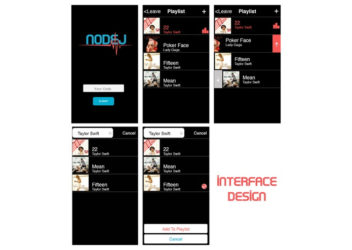 NODJ – screenshot 2