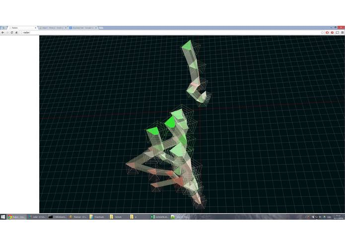 Wireless 3D Data Visualiser – screenshot 2