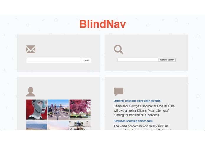 BlindNav – screenshot 1