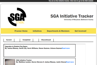 SGA Initiative Tracker