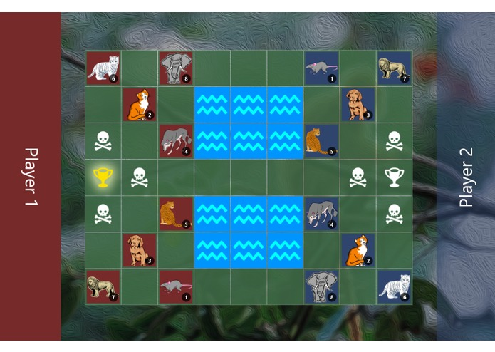 Jungle Chess (2012 Windows Build Hackathon) – screenshot 1