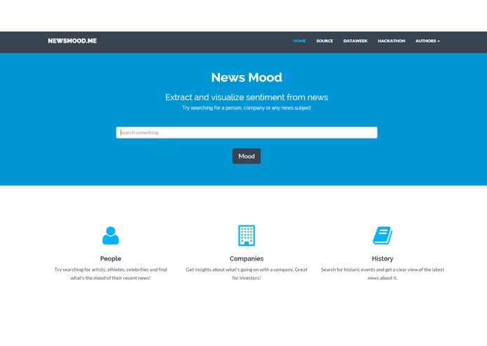 Newsmood – screenshot 1