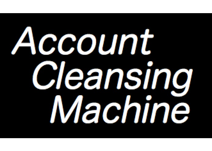 Account Cleansing Machine – screenshot 1