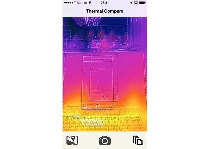Thermal Compare – screenshot 1