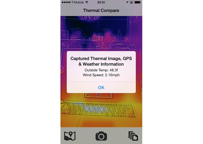 Thermal Compare – screenshot 3