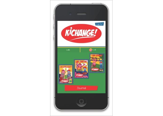 Kichange Journal App – screenshot 1