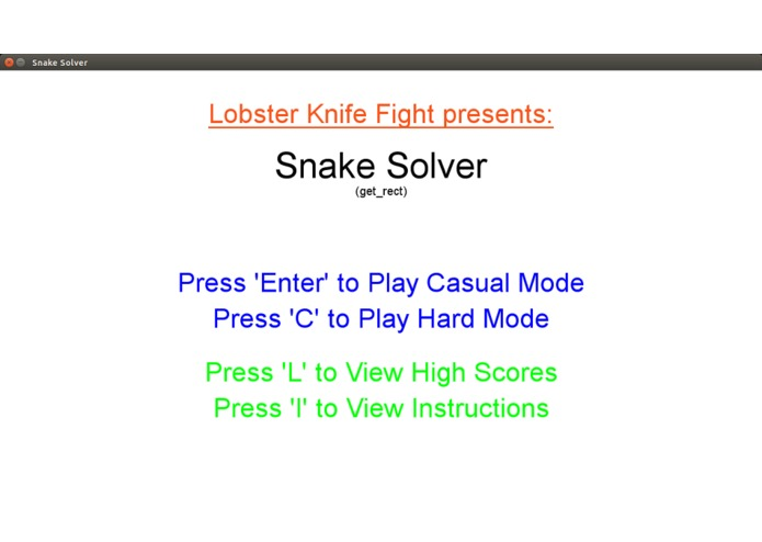Snake Solver – screenshot 1