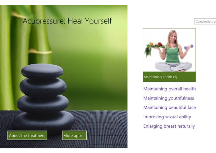 Acupressure: Heal Yourself – screenshot 1