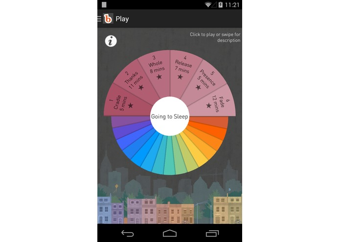 buddhify for Android – screenshot 2