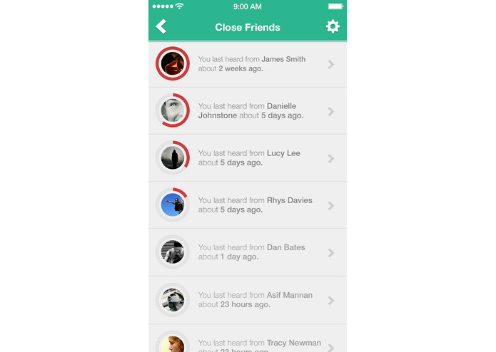 The Kinship App – screenshot 3