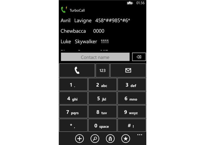 TurboCall – screenshot 1