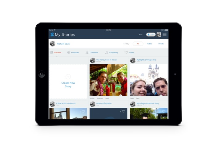 StoryPress completely Re-imagines Storytelling for Family History – screenshot 2