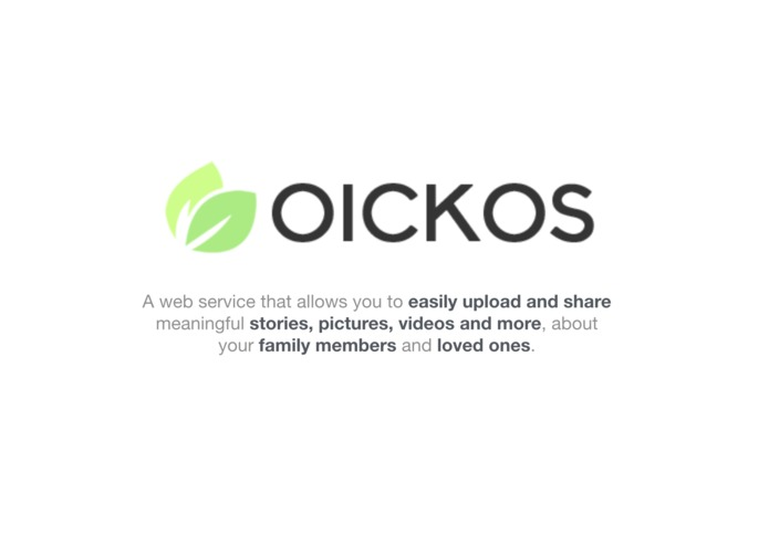 Oickos: Family Memories for Every Generation – screenshot 1