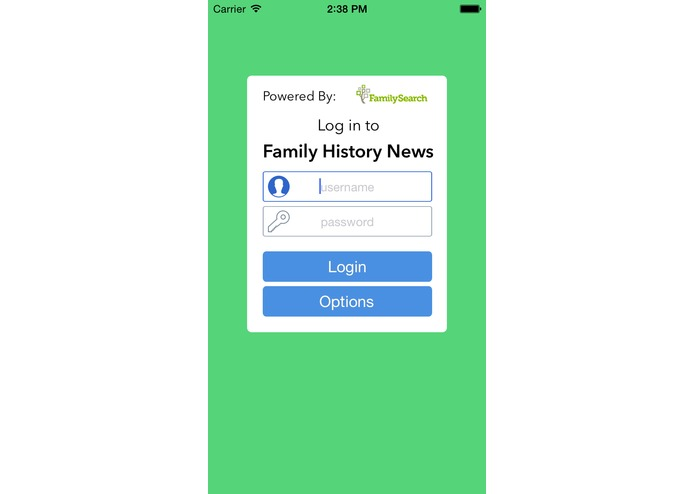 FamilyNews – screenshot 4