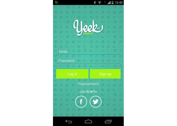 Yeek – screenshot 2