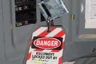 Heads-up Assisted Lockout-Tagout (HALT) system