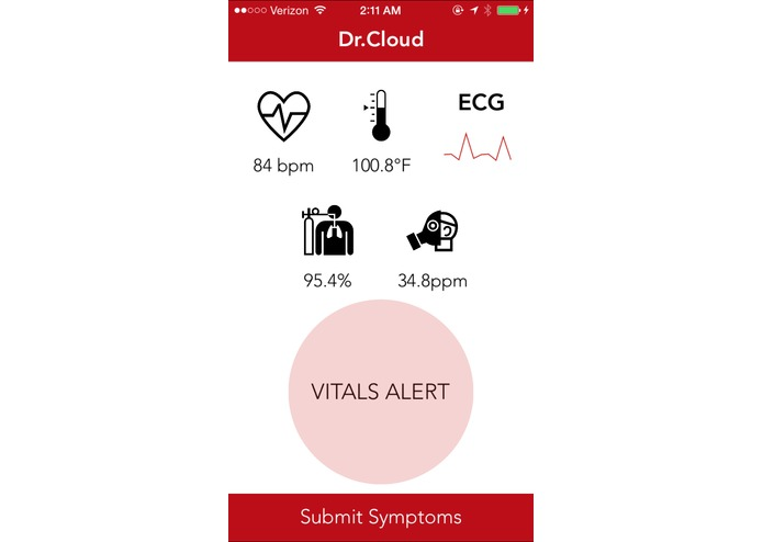 Dr.Cloud - Real-time Vitals Monitoring | Instant Diagnosis | Instant Medication Delivery – screenshot 2