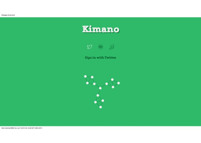 Kimano – screenshot 1
