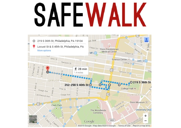 SafeWalk – screenshot 2